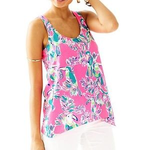 Lilly Pulitzer Monterey Tank Toucan Can